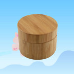 Bamboo Cosmetic Jars